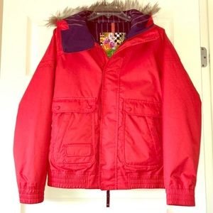 Red Burton Snowboard/Ski Jacket